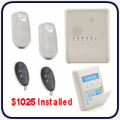 Agility 3 Alarm Kit with 2 x iWave wireless detectors